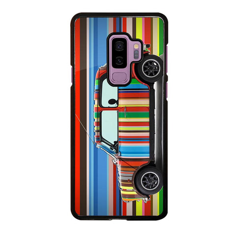 coque custodia cover fundas hoesjes j3 J5 J6 s20 s10 s9 s8 s7 s6 s5 plus edge D35178 MINI COOPER STRIPE PAUL SMITH Samsung Galaxy S9 Plus Case