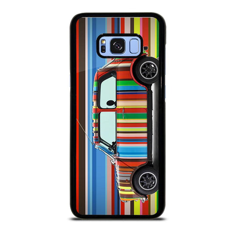 coque custodia cover fundas hoesjes j3 J5 J6 s20 s10 s9 s8 s7 s6 s5 plus edge D35176 MINI COOPER STRIPE PAUL SMITH Samsung Galaxy S8 Plus Case