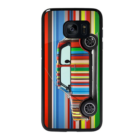 coque custodia cover fundas hoesjes j3 J5 J6 s20 s10 s9 s8 s7 s6 s5 plus edge D35174 MINI COOPER STRIPE PAUL SMITH Samsung galaxy s7 edge Case