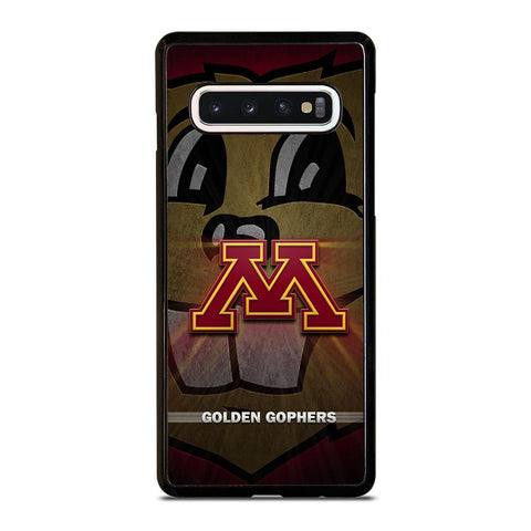 coque custodia cover fundas hoesjes j3 J5 J6 s20 s10 s9 s8 s7 s6 s5 plus edge D35198 MINNESOTA GOLDEN GOPHERS #1 Samsung Galaxy S10 Case