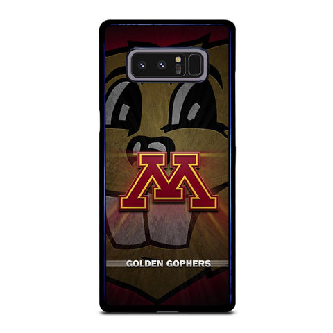 coque custodia cover fundas hoesjes j3 J5 J6 s20 s10 s9 s8 s7 s6 s5 plus edge D35195 MINNESOTA GOLDEN GOPHERS #1 Samsung Galaxy Note 8 Case