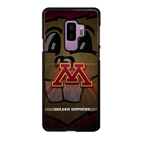 coque custodia cover fundas hoesjes j3 J5 J6 s20 s10 s9 s8 s7 s6 s5 plus edge D35210 MINNESOTA GOLDEN GOPHERS #1 Samsung Galaxy S9 Plus Case