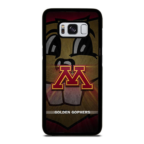 coque custodia cover fundas hoesjes j3 J5 J6 s20 s10 s9 s8 s7 s6 s5 plus edge D35207 MINNESOTA GOLDEN GOPHERS #1 Samsung Galaxy S8 Case