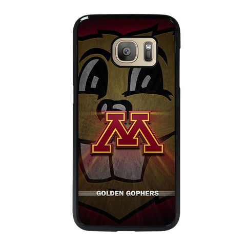 coque custodia cover fundas hoesjes j3 J5 J6 s20 s10 s9 s8 s7 s6 s5 plus edge D35205 MINNESOTA GOLDEN GOPHERS #1 Samsung Galaxy S7 Case
