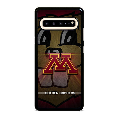 coque custodia cover fundas hoesjes j3 J5 J6 s20 s10 s9 s8 s7 s6 s5 plus edge D35197 MINNESOTA GOLDEN GOPHERS #1 Samsung Galaxy S10 5G Case