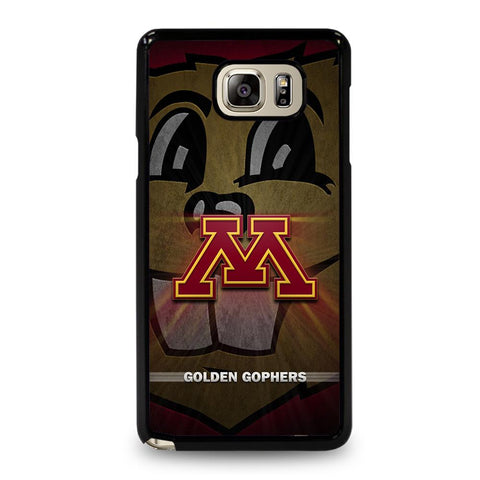 coque custodia cover fundas hoesjes j3 J5 J6 s20 s10 s9 s8 s7 s6 s5 plus edge D35194 MINNESOTA GOLDEN GOPHERS #1 Samsung Galaxy Note 5 Case