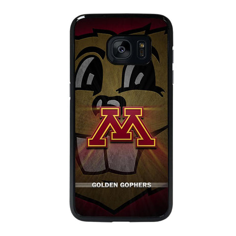 coque custodia cover fundas hoesjes j3 J5 J6 s20 s10 s9 s8 s7 s6 s5 plus edge D35206 MINNESOTA GOLDEN GOPHERS #1 Samsung galaxy s7 edge Case