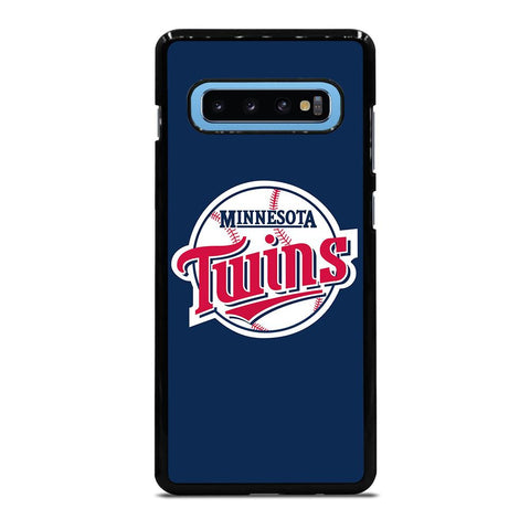 coque custodia cover fundas hoesjes j3 J5 J6 s20 s10 s9 s8 s7 s6 s5 plus edge D35260 MINNESOTA TWINS BASEBALL Samsung Galaxy S10 Plus Case