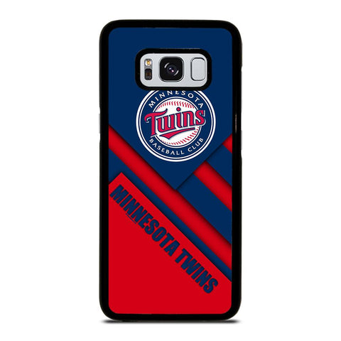 coque custodia cover fundas hoesjes j3 J5 J6 s20 s10 s9 s8 s7 s6 s5 plus edge D35221 MINNESOTA TWINS BASEBALL #1 Samsung Galaxy S8 Case
