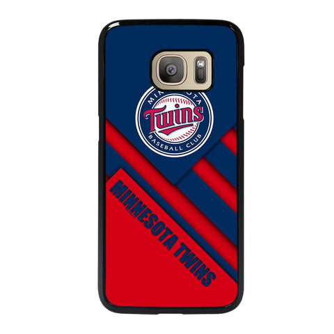 coque custodia cover fundas hoesjes j3 J5 J6 s20 s10 s9 s8 s7 s6 s5 plus edge D35219 MINNESOTA TWINS BASEBALL #1 Samsung Galaxy S7 Case