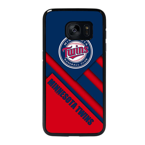 coque custodia cover fundas hoesjes j3 J5 J6 s20 s10 s9 s8 s7 s6 s5 plus edge D35220 MINNESOTA TWINS BASEBALL #1 Samsung Galaxy s7 edge Case