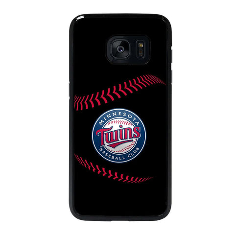 coque custodia cover fundas hoesjes j3 J5 J6 s20 s10 s9 s8 s7 s6 s5 plus edge D35248 MINNESOTA TWINS BASEBALL 3 Samsung Galaxy s7 edge Case