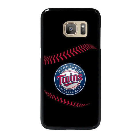 coque custodia cover fundas hoesjes j3 J5 J6 s20 s10 s9 s8 s7 s6 s5 plus edge D35247 MINNESOTA TWINS BASEBALL 3 Samsung Galaxy S7 Case