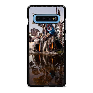 NATIVE AMERICAN INDIAN FEATHERS Cover Samsung Galaxy S10 Plus