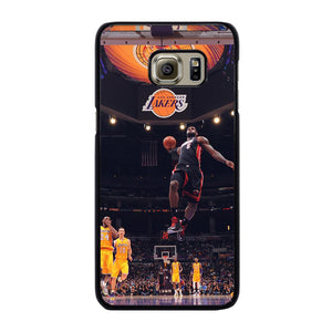 NBA LA LAKERS GAME Cover Samsung Galaxy S6 Edge Plus