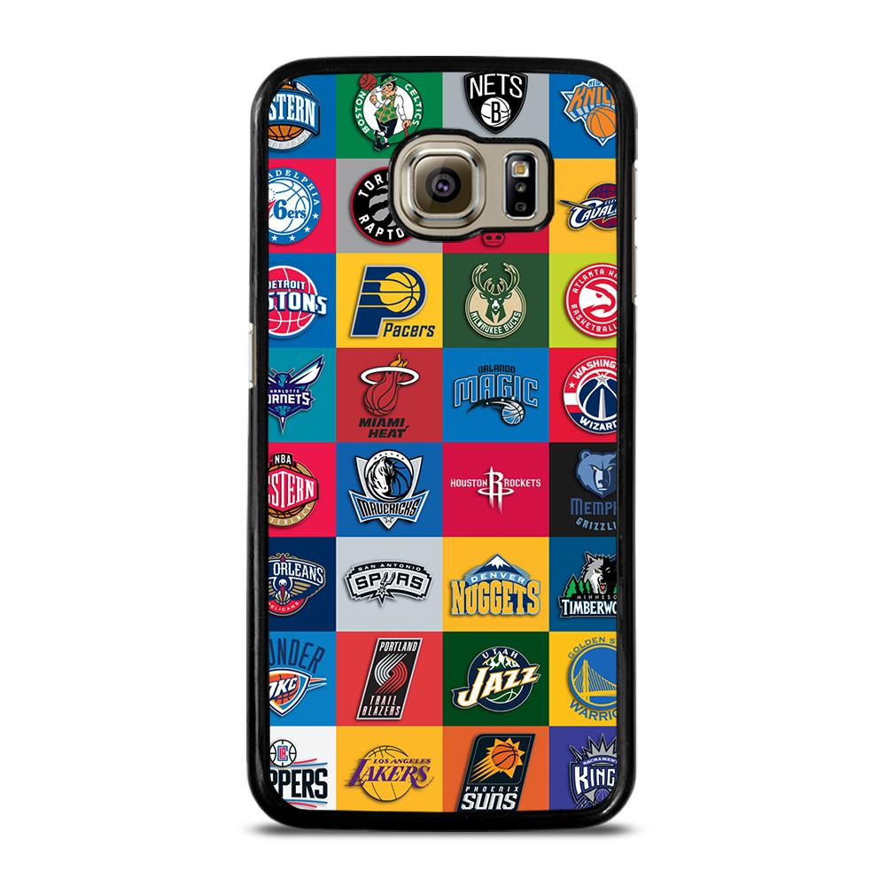 NBA TEAM COLLAGE Cover Samsung Galaxy S6