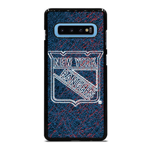 NEW YORK RANGERS ABSTRACT Cover Samsung Galaxy S10 Plus