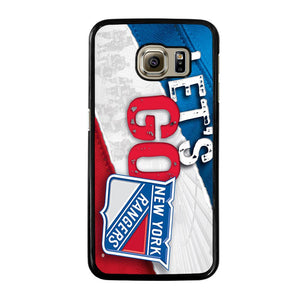 NEW YORK RANGERS LET'S GO Cover Samsung Galaxy S6