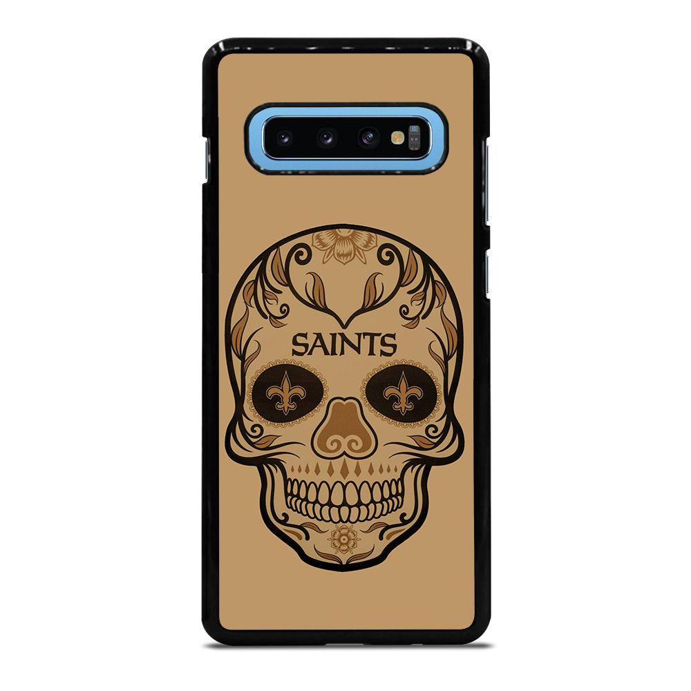 NEW ORLEANS SAINTS SKULL Cover Samsung Galaxy S10 Plus