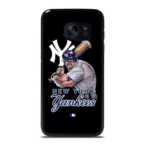 NEW YORK YANKEES BASEBALL MLB LOGO Cover Samsung Galaxy S7 Edge,samsung s view cover s7 edge cover s7 edge colorate,NEW YORK YANKEES BASEBALL MLB LOGO Cover Samsung Galaxy S7 Edge