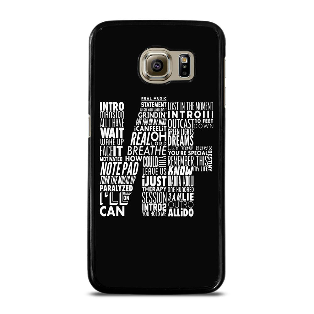 NF WORD COLLABORATION LOGO Cover Samsung Galaxy S6