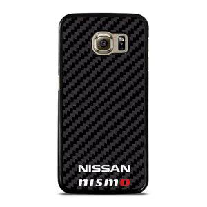 NISSAN NISMO JDM STYLE CARBON FIBER Cover Samsung Galaxy S6