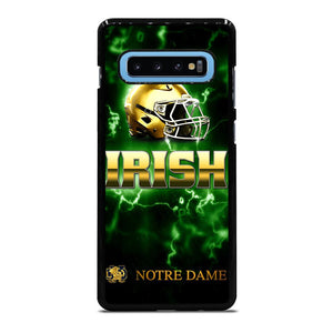NOTRE DAME IRISH LOGO GREEN Cover Samsung Galaxy S10 Plus