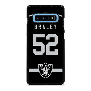 OAKLAND RAIDERS BRALEY Cover Samsung Galaxy S10 Plus