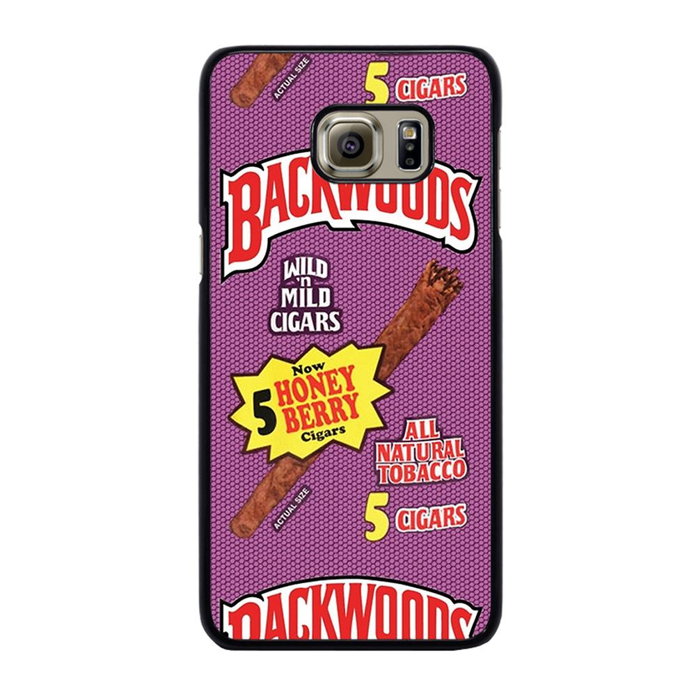 ONLY BACKWOODS CIGARS Cover Samsung Galaxy S6 Edge Plus