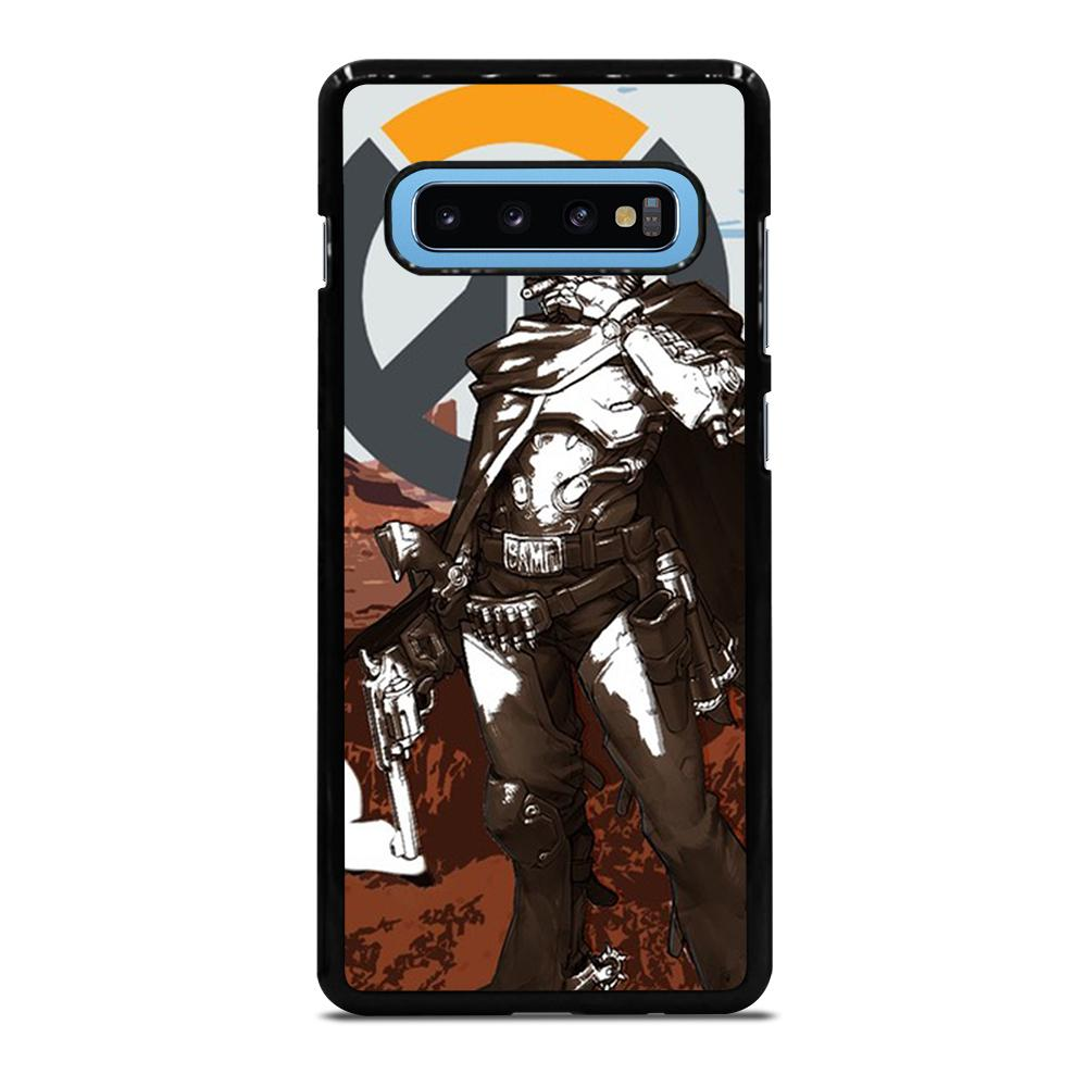 OVERWATCH McCree Cover Samsung Galaxy S10 Plus