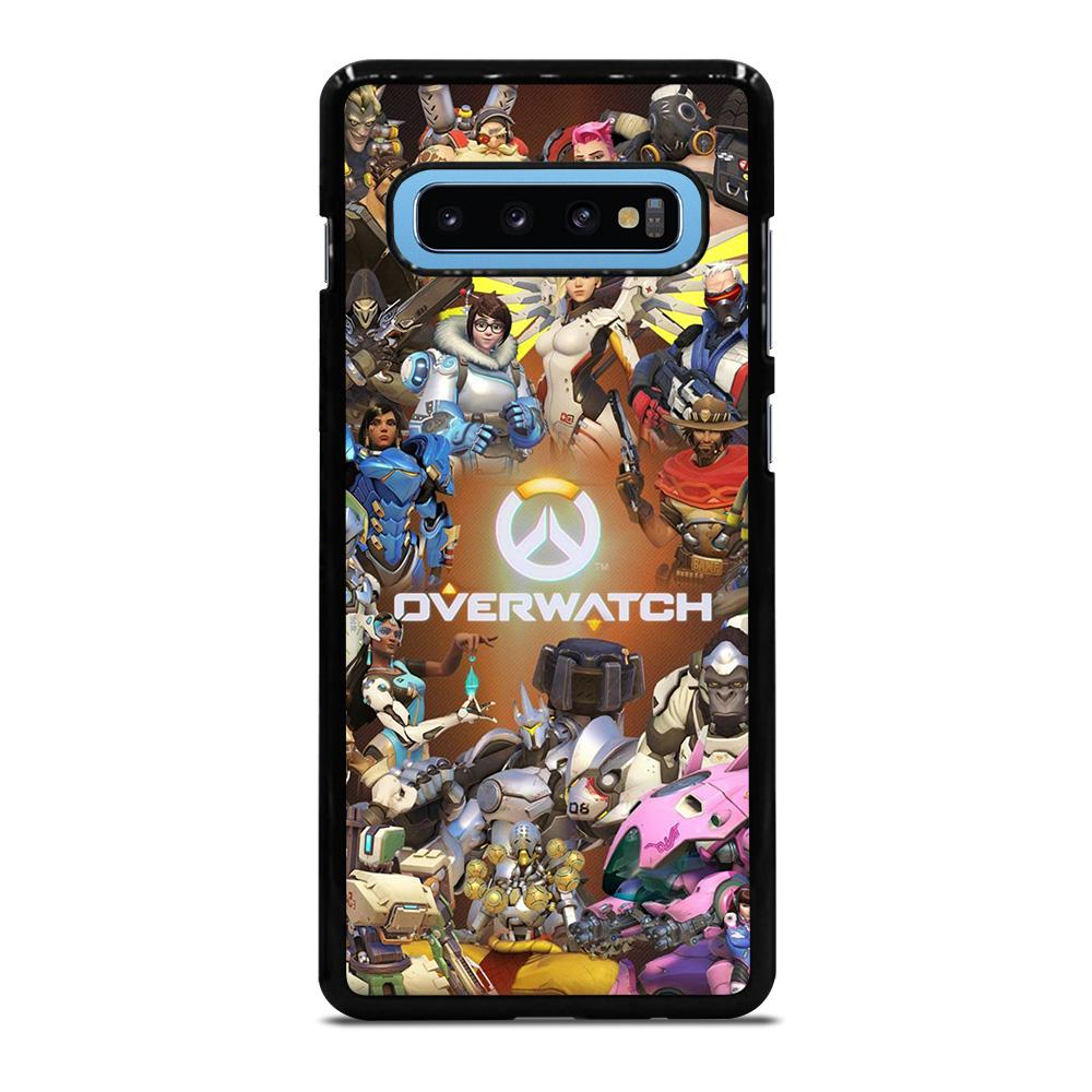 OVERWATCH TRACER GAME Cover Samsung Galaxy S10 Plus