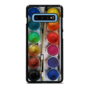 PAINT BOX WATERCOLOR Cover Samsung Galaxy S10 Plus