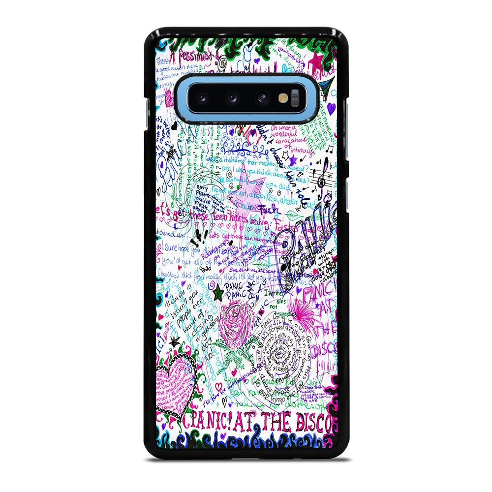 PANIC AT THE DISCO BY SAMARA BLACK Cover Samsung Galaxy S10 Plus