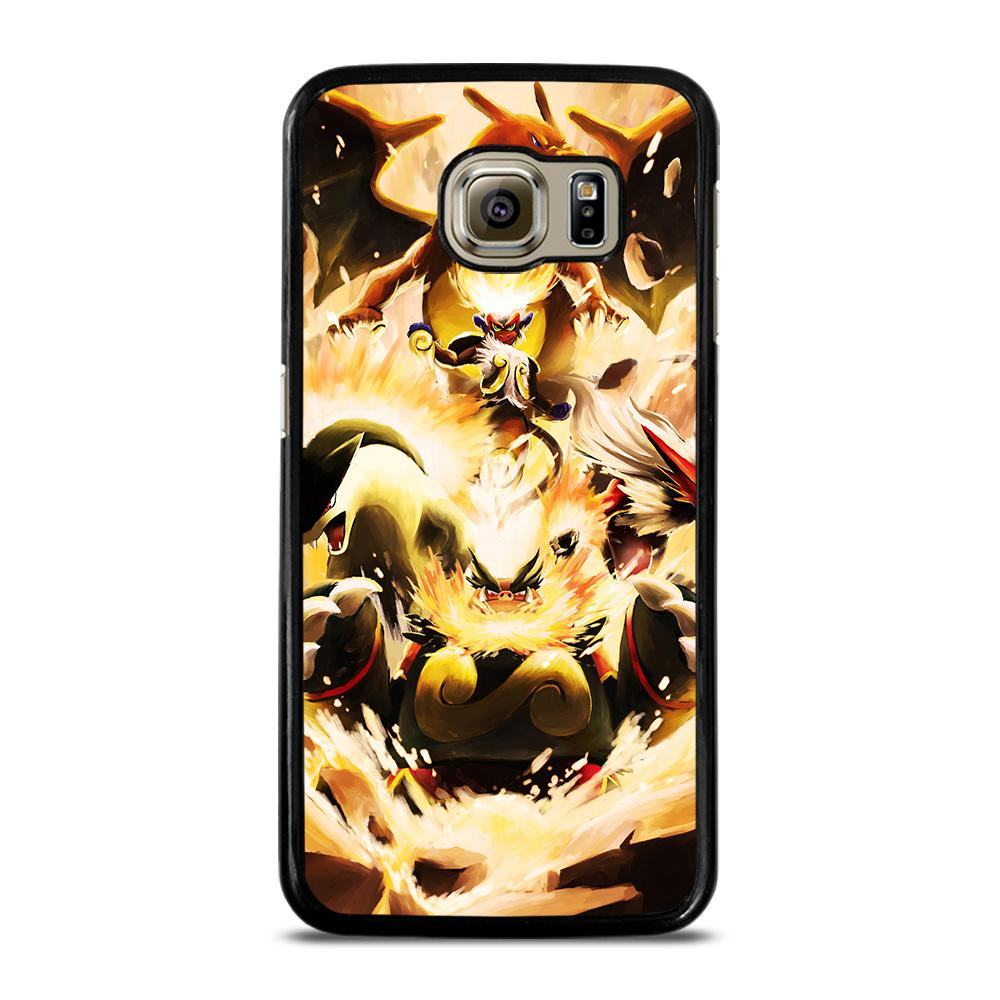 POKEMON CHARIZARD INFERNAPE Cover Samsung Galaxy S6