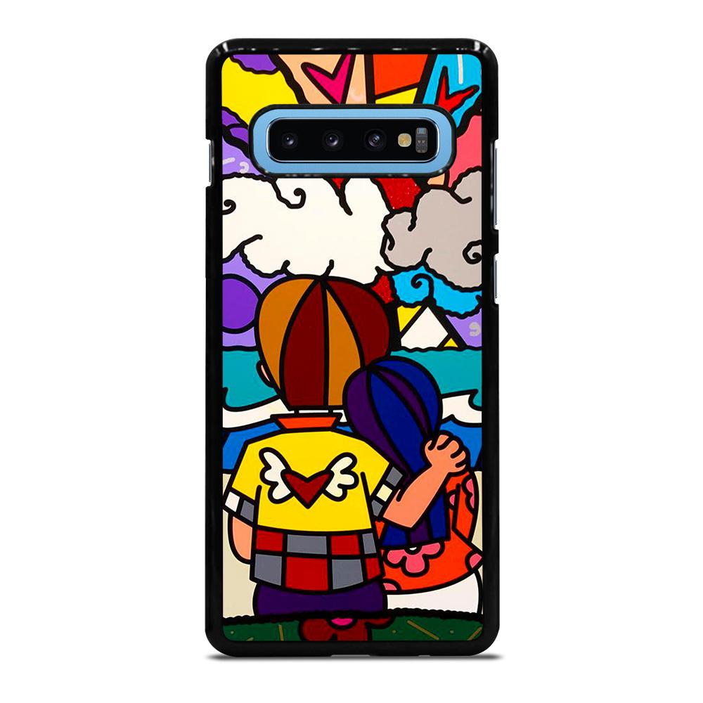 POP ART ROMERO BRITTO Cover Samsung Galaxy S10 Plus