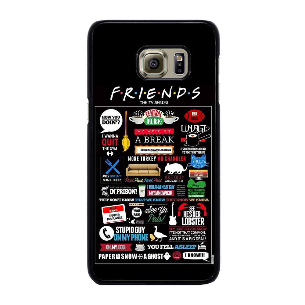 POSTERHOUZZ FRIENDS TV SHOW Cover Samsung Galaxy S6 Edge Plus