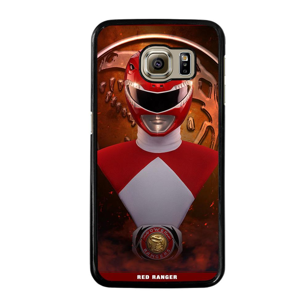 POWER RANGERS RED MIGHTY MORPHIN Cover Samsung Galaxy S6