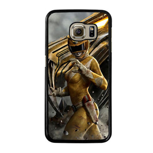 POWER RANGER YELLOW Cover Samsung Galaxy S6