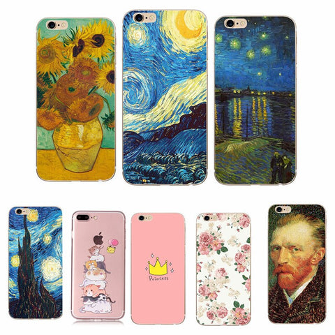 cover iphone 8 van gogh
