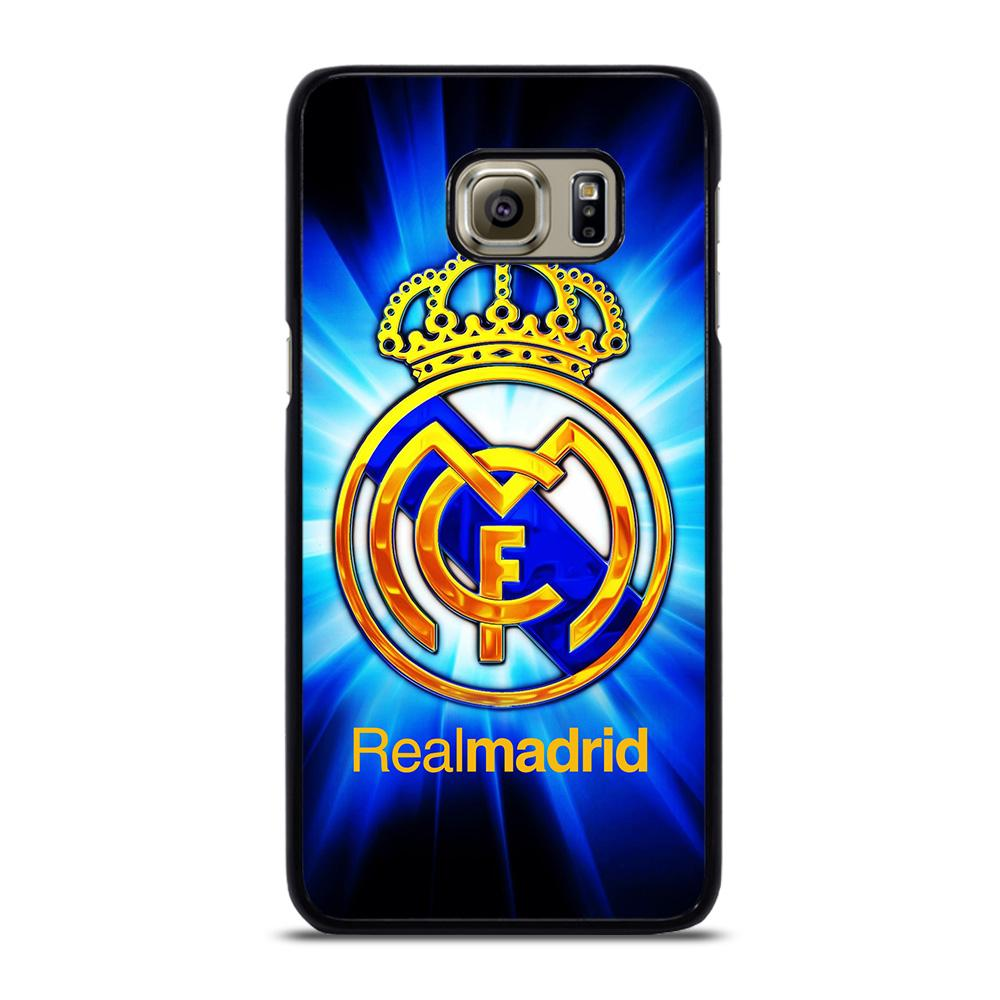 REAL MADRID BLUE Cover Samsung Galaxy S6 Edge Plus