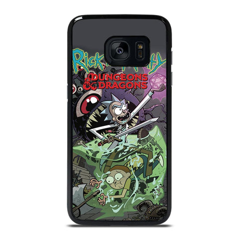 RICK AND MORTY VS DUNGEONS DRAGONS Cover Samsung Galaxy S7 Edge,samsung view cover s7 edge silver ebay cover s7 edge,RICK AND MORTY VS DUNGEONS DRAGONS Cover Samsung Galaxy S7 Edge