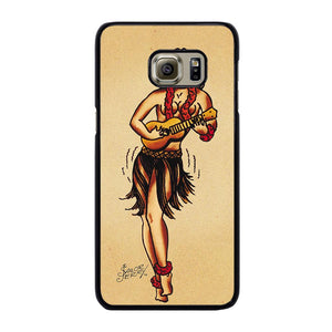 SAILOR JERRY TATTOO HAWAII Cover Samsung Galaxy S6 Edge Plus