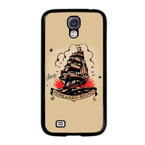 SAILOR JERRY TATTOO HOMEWARD BOUND Cover Samsung Galaxy S4