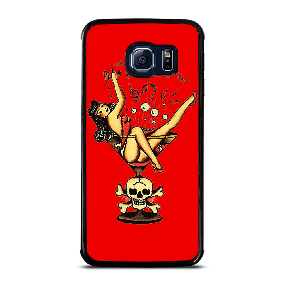 SAILOR JERRY BEWARE Cover Samsung Galaxy S6 Edge