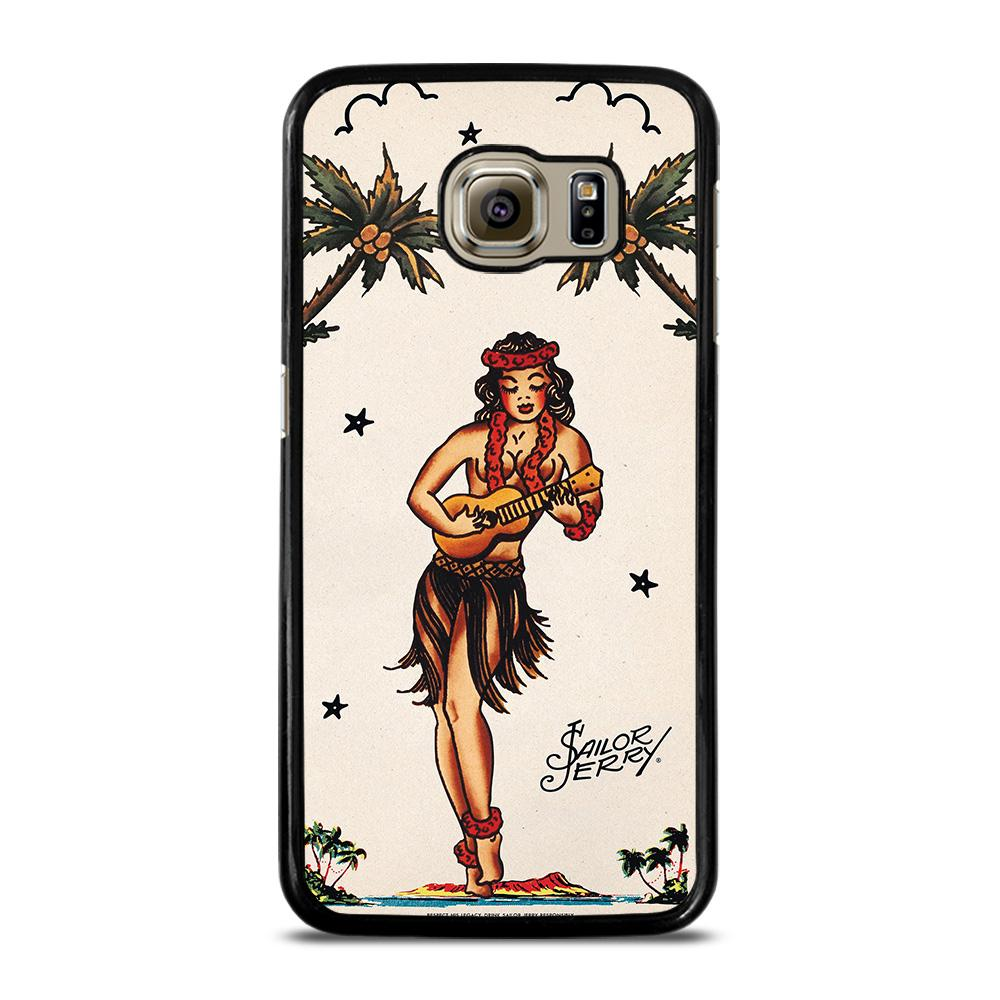 SAILOR JERRY S HULA GIRL 2 Cover Samsung Galaxy S6