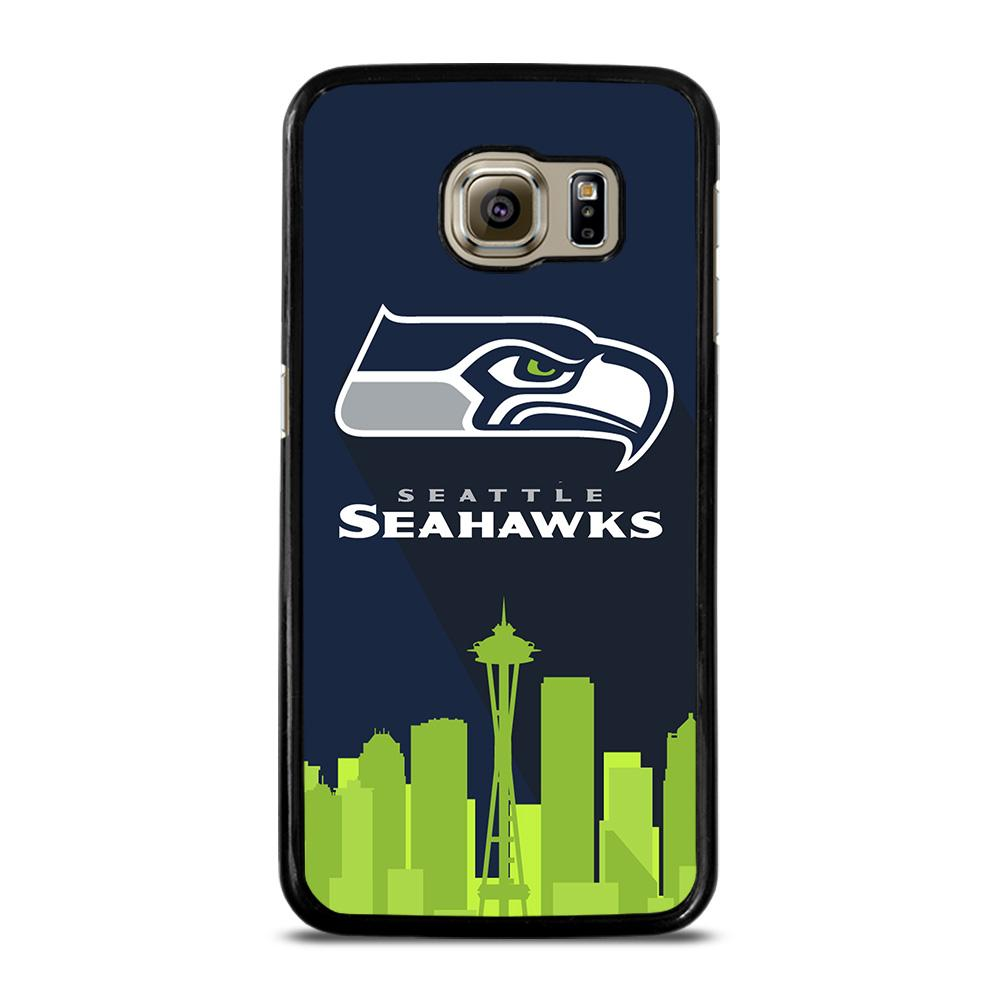 SEATTLE SEAHAWKS LOGO Cover Samsung Galaxy S6