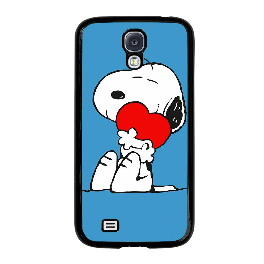 SNOOPY LOVE HEART Cover Samsung Galaxy S4