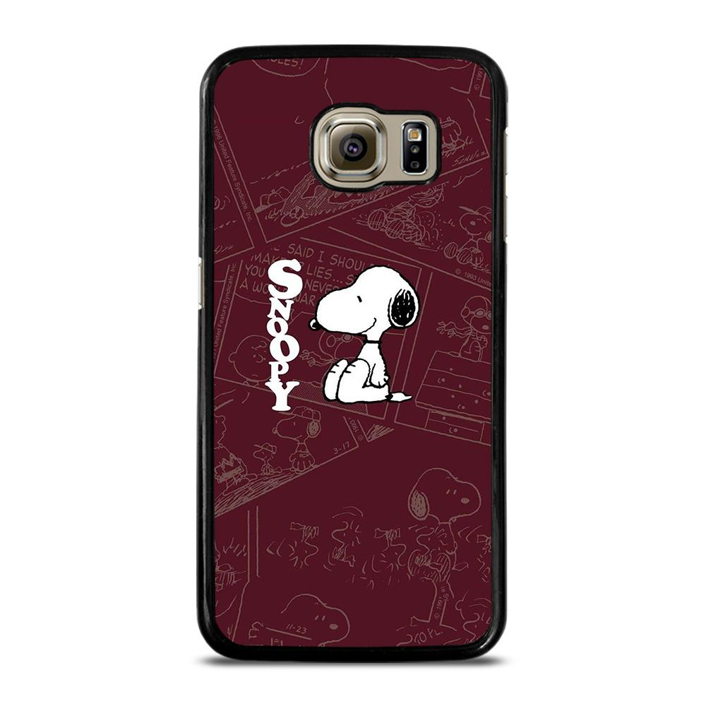 SNOOPY PEANUTS Cover Samsung Galaxy S6