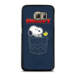 SNOOPY POCKET FRIEND Cover Samsung Galaxy S6