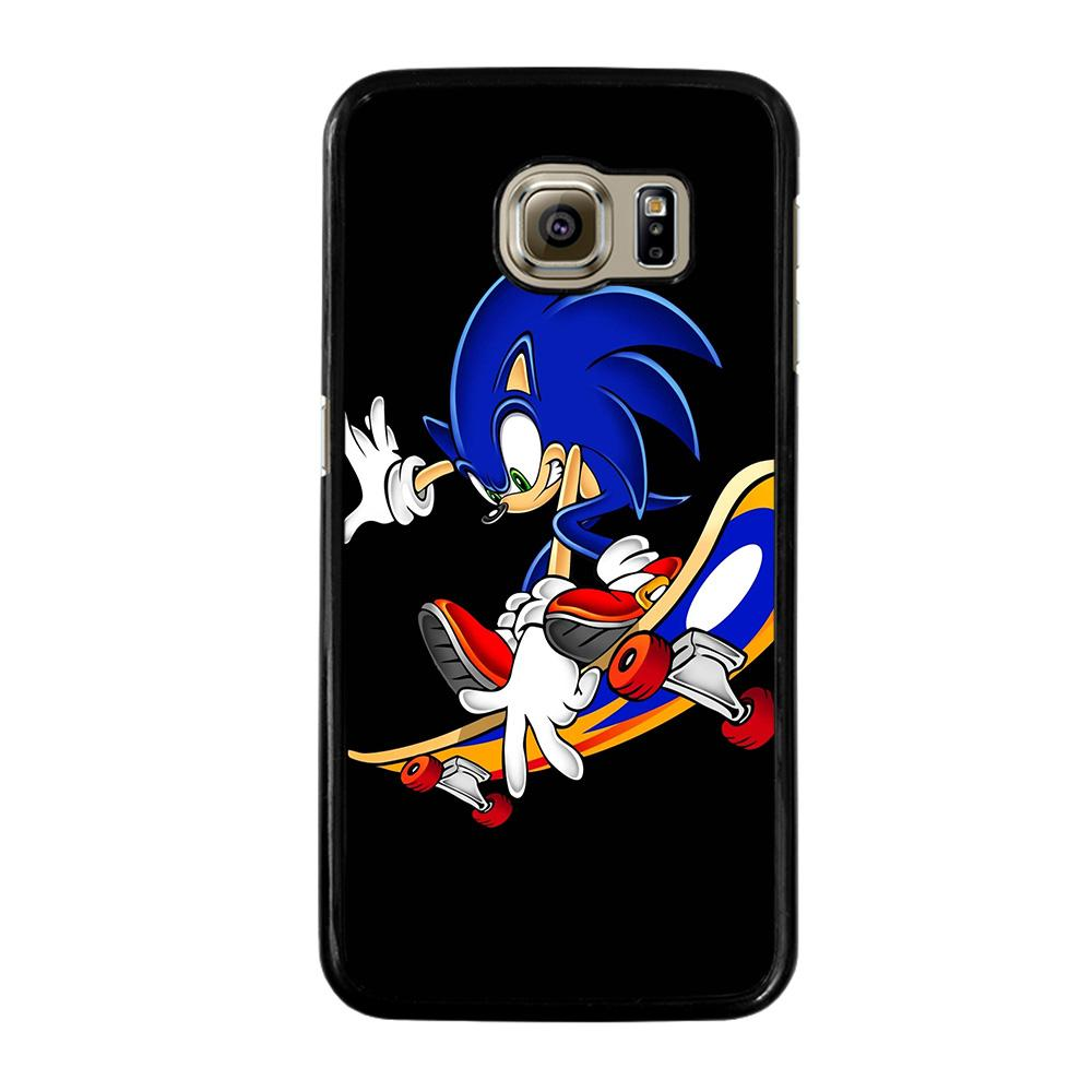 SONIC THE HEDGEHOG SKATEBOARD Cover Samsung Galaxy S6